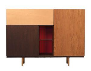 Swing 1735/F, Sideboard mit geometrischem Design