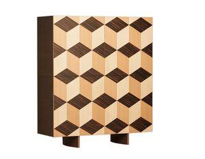 Veronese 1710/F, Sideboard mit geometrischer Dekoration