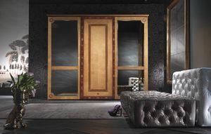 AR15 Sissy Kleiderschrank, Klassischer Kleiderschrank mit Spiegeltüren
