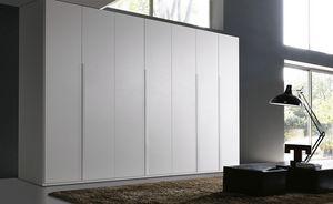 FILO, Kleiderschrank für Schlafzimmer mit Flügeltüren