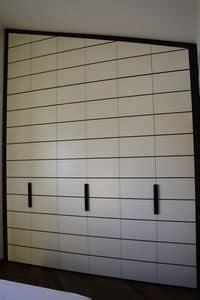 Kleiderschrank für Schlafzimmer 03, Kleiderschrank mit ungewöhnlicher Höhe, über 4 Meter, für Schlafzimmer
