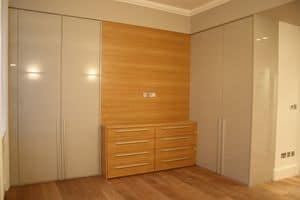Kleiderschrank für Schlafzimmer 01, Schrank in den Raum zugeschnitten, die optimale Nutzung von Raum zu machen