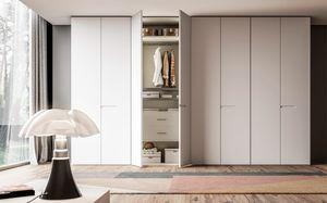 OTTO, Kleiderschrank mit weiß lackierten Türen