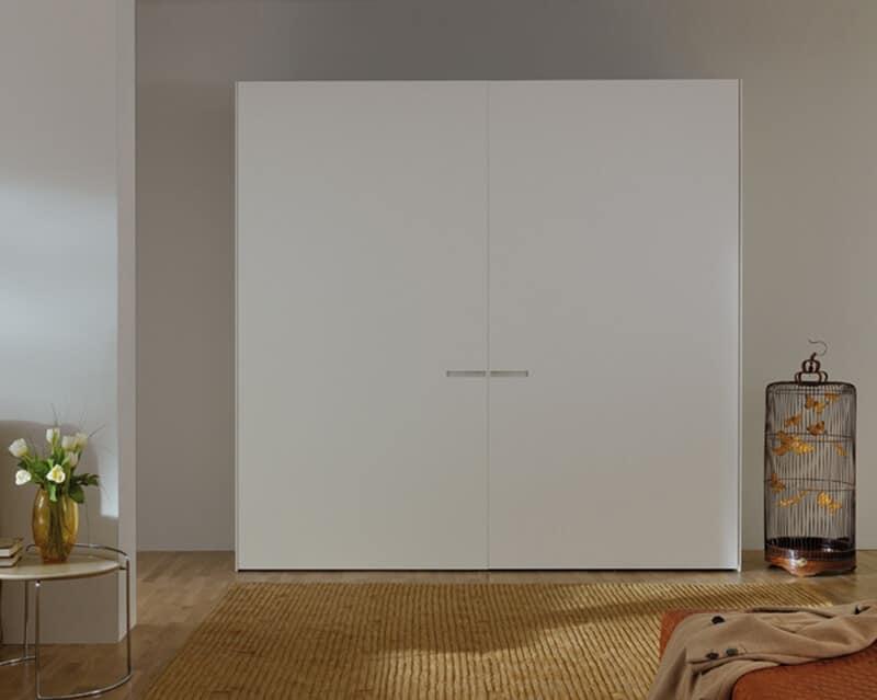 Kleiderschrank Flugelturen Matt Oder Poliert Fur Schlafzimmer Moderne Idfdesign