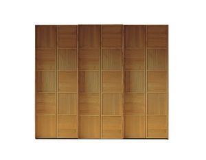 Scacchi 0372, Holzschrank mit Schiebetüren