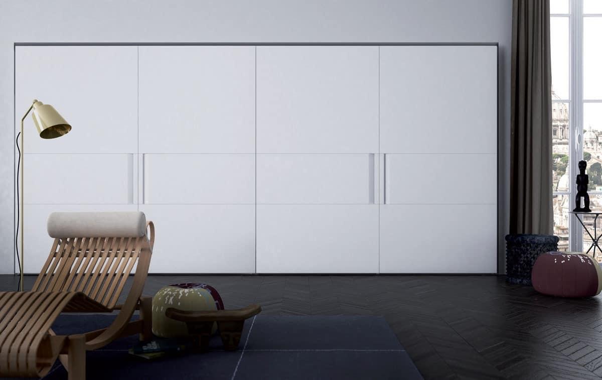 Vela, Elegante Garderobe, einer Ebene, verschiedenen Ausführungen