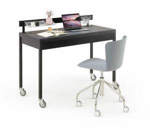 a113 platone, Ausgestatteter Schreibtisch mit Schubladen