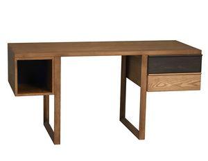 Swing 5003/F, Schreibtisch aus Eschenholz