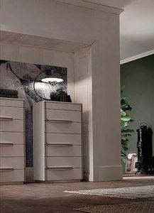 Even, Kommode mit sieben Schubladen und minimalistischem Design