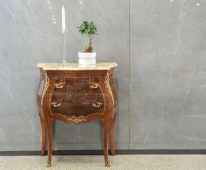 Art. 605, Klassische Kommode mit Marmorplatte zum Schnäppchenpreis