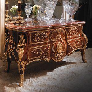 Kommode 5234, Luxuskommode in Bois de Rose