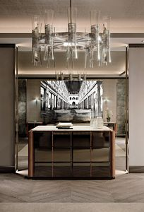 LEXINGTON AVENUE Anrichte, Luxus Kommode mit Marmorplatte