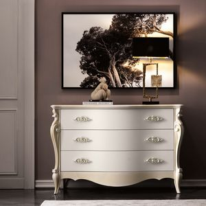 Versailles Art. 480, Elegante Kommode von Hand dekoriert