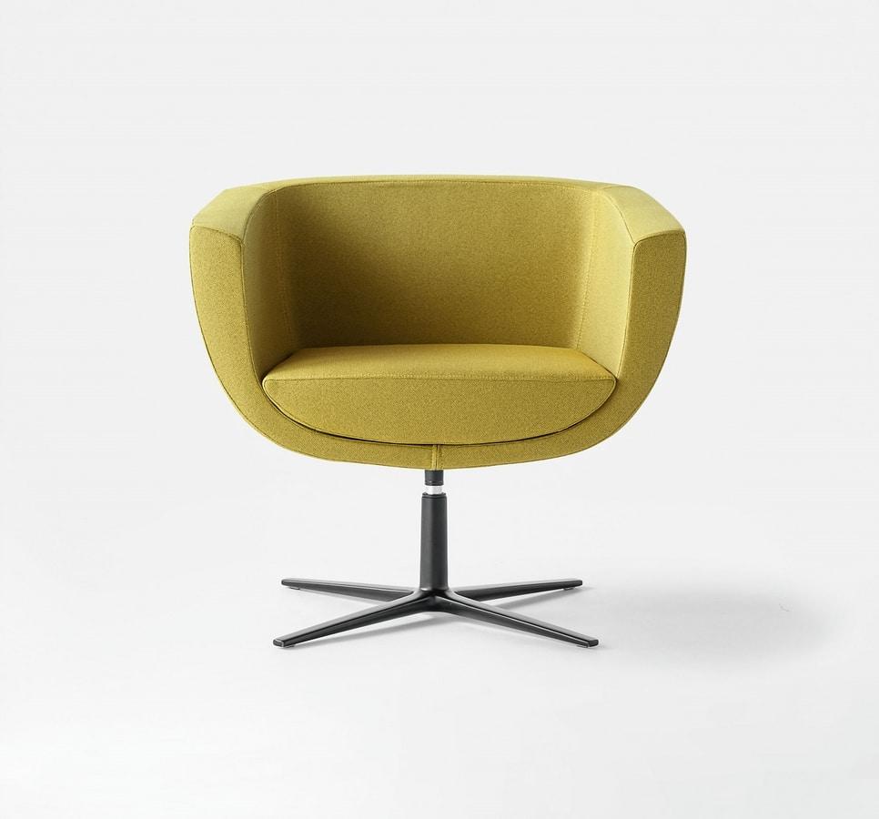 Koppa, Gepolsterten Sessel, verschiedene Trägerstrukturen