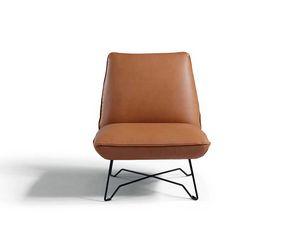 Lia, Gepolsterter Sessel ohne Armlehnen