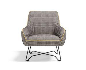 Namy, Sessel für Art-Deco-Umgebungen