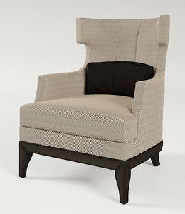 PALAIS-ROYAL Sessel, Sessel mit breiter Sitzfläche und hoher Rückenlehne
