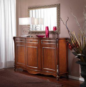 3625 NUSSBAUMSCHRANK, Sideboard aus Walnuss, Verkaufspreis