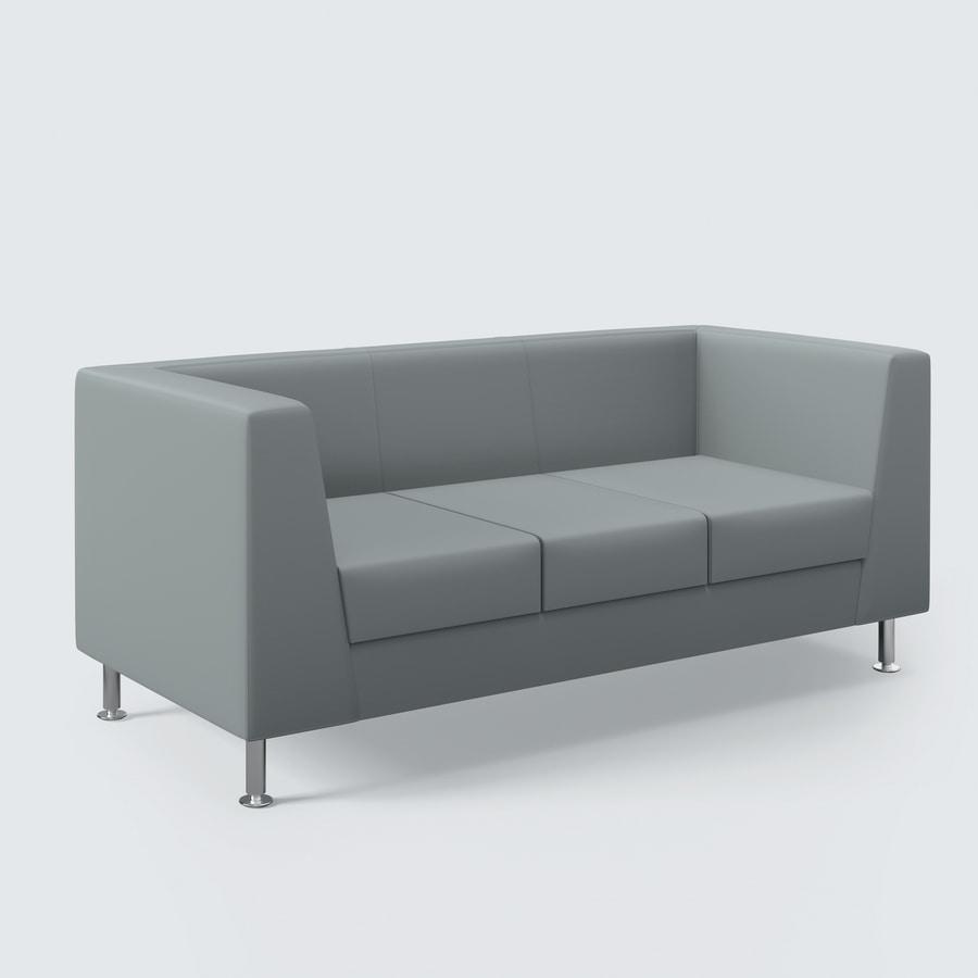 NAXOS, Sofa mit klarem Design, Oberflächen auf höchstem Niveau, für das Wohnzimmer und Büro