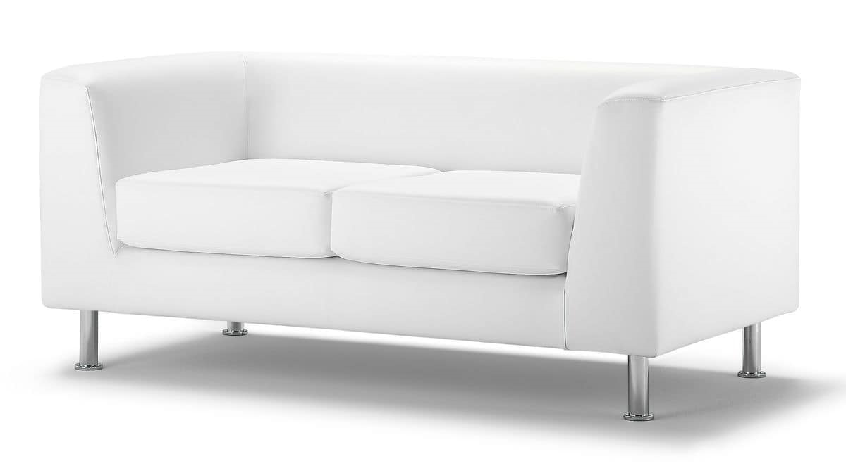 Wait 02, Polster 2er-Sofa, für moderne Büro