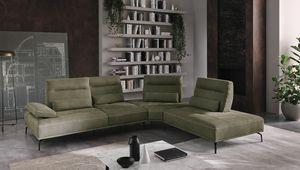 Bebe, Sofa mit einem soliden und imposanten Design