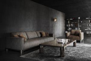 Bold Sofa, Elegantes anpassbares Sofa