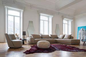 Gary, Sofa mit einem raffinierten Design