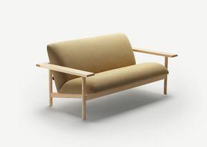 Kinoko sofa, Sofa mit klarem Design