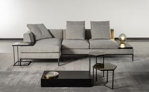 Louis, Sofa mit minimalistischem Design