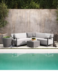 SET COLOMBIA, Sofa im Freien im schnellen trockenen Schaum