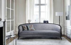 Allure, Sofa mit geschwungenen Linien