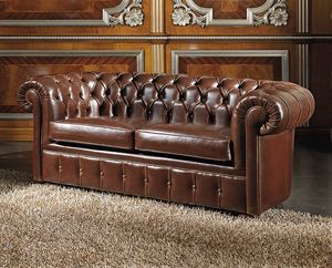 ART. 2757, 2-Sitzer-Sofa in Chester-Modell Leder