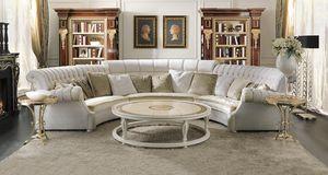 ART. 2937, Modulares geschwungenes Sofa