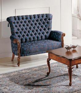 Art. 3586, Kleines Sofa mit Capitonné-Rücken