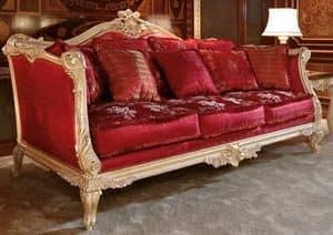 Art. 705, Das elegante und luxuriöse handgeschnitzte Sofa