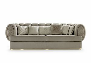Babylon, Bequemes Sofa mit weichen Formen