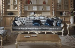 Cardinale Sofa, Sofa für repräsentative Wohnzimmer