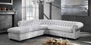 CHESTER modular, Modulares Sofa mit getuftetem Polster