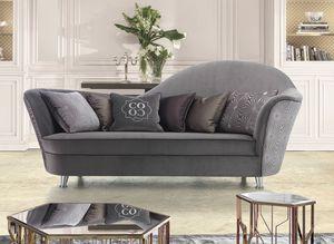 Elodie, Sofa mit weichen Formen