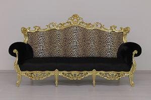Finlandia Stoff 3-Sitzer, Klassisches Sofa von Handwerkern