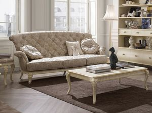 Florentia Sofa, Klassisches 3-Sitzer-Sofa