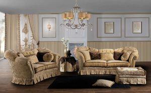 IMPERIALE, Beeindruckendes Sofa, mit einem klassischen Design