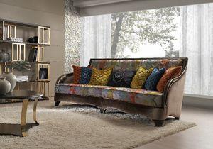 Lewis, Sofa mit zeitgemäßem Design