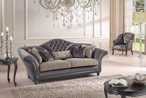 Logo, Sofa für anspruchsvolle und elegante Umgebungen