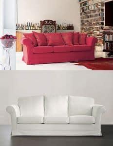 Lord mit Kissen, Sofa mit gepolstertem in unterschiedlicher Dichte Polyurethan