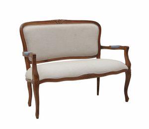 Mozaic 0241, Sofa mit Armlehnen, klassisches Design