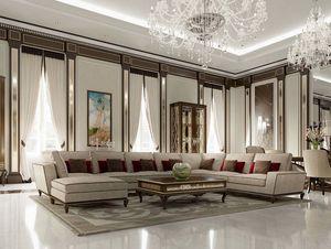New York Sofa, Elegantes modulares Sofa