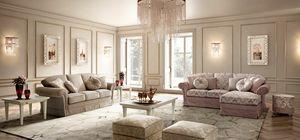 Nostalgie Sofa, Sofas inspiriert von den luxuriösen Umgebungen der Vergangenheit