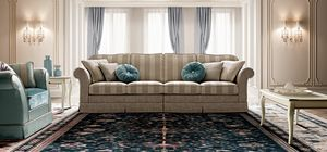 Treviso Sofa, Sofa im traditionellen Design