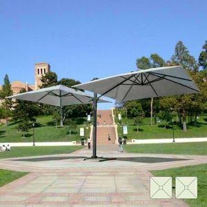 Umbrella Doppelarmlehne Contract Garten Oslo – OS303POL, Sonnenschirm verstellbar mit Doppelarm